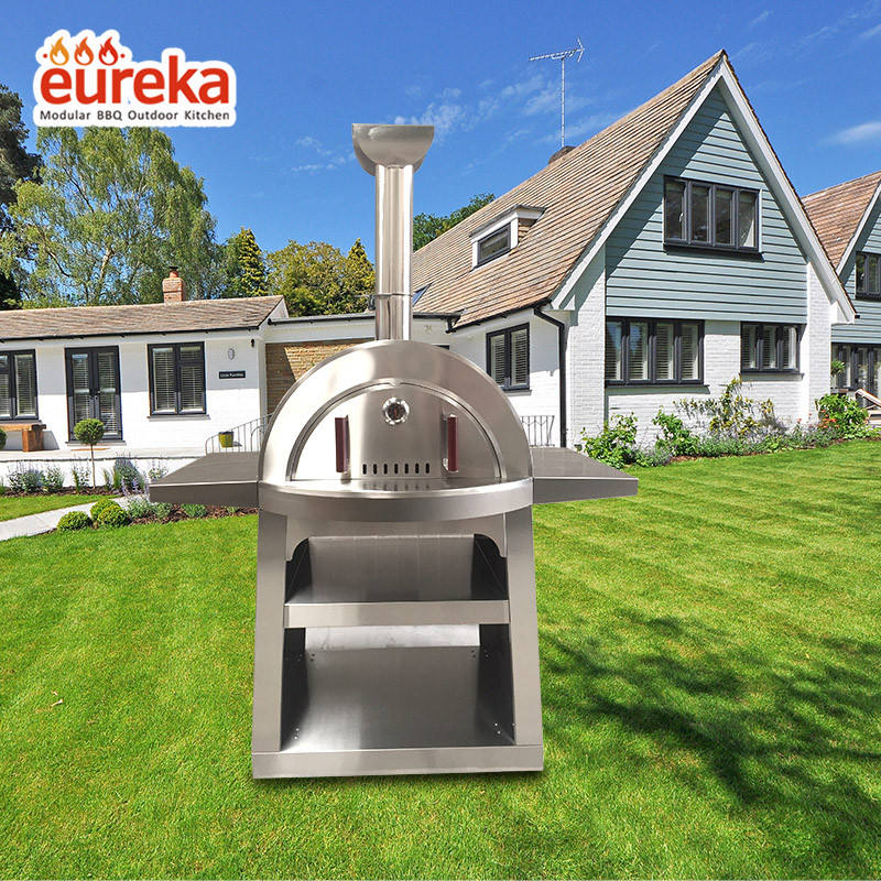 Commercial High Quality Wood Fired Stainless Steel Artisan Pizza Oven or Grill Outdoor or Indoor