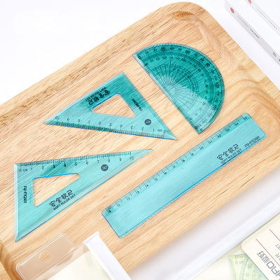 Soft Rubber Ruler Student Stationery Office Drawing Supplies