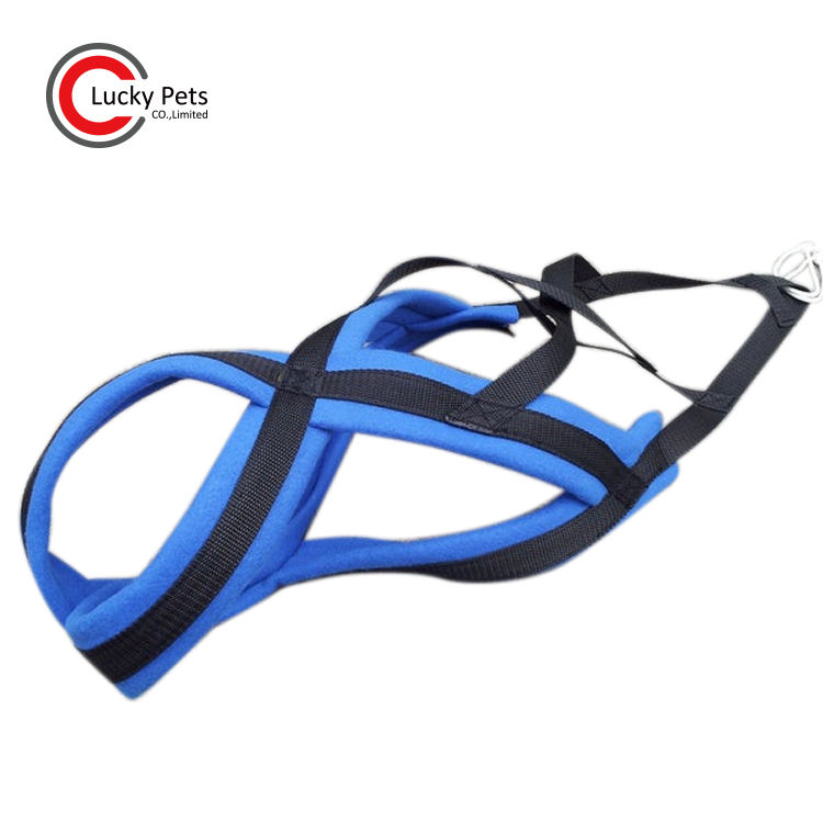 Outdoor Training Weight Pull Sled Dog Harness with Comfortable Padded