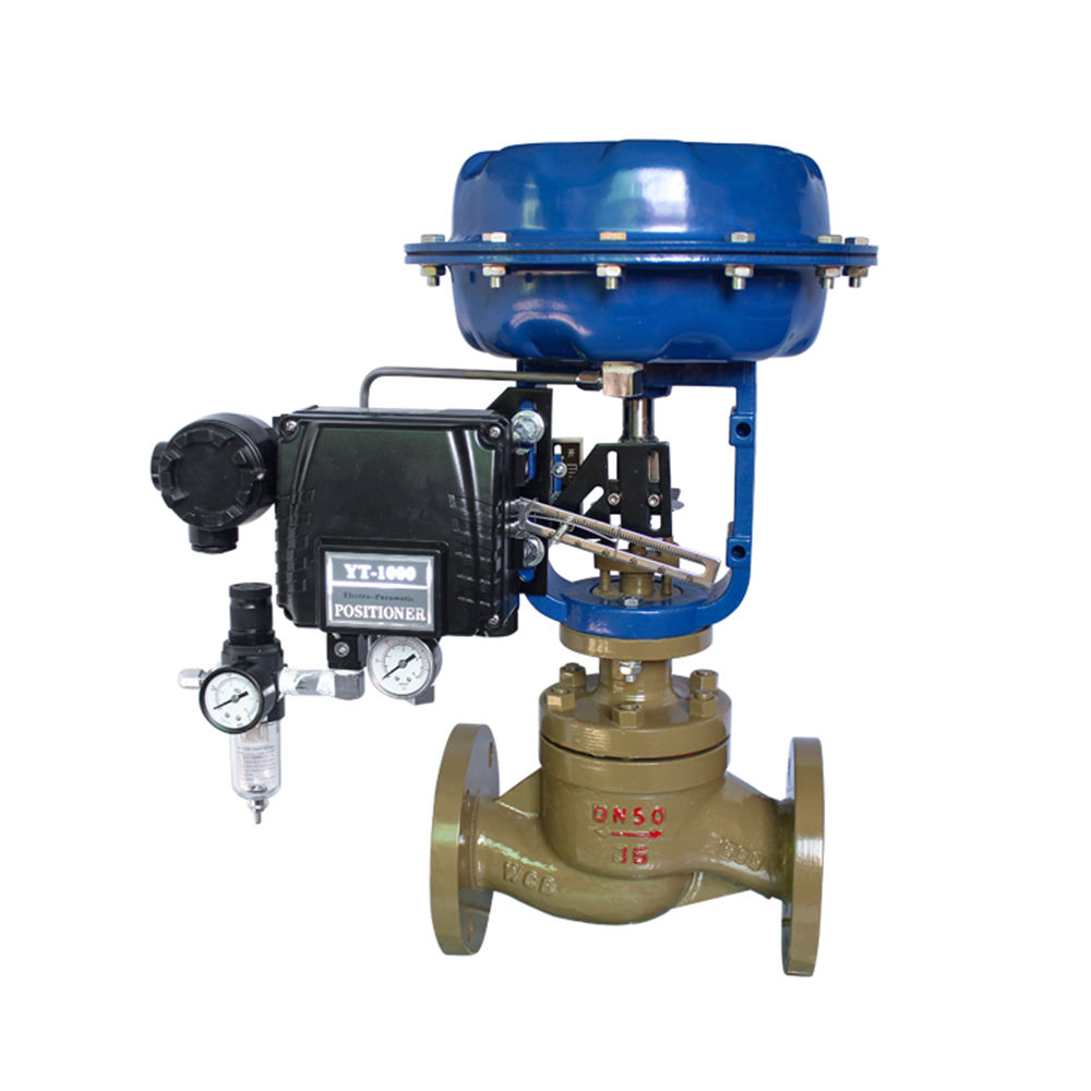 Pneumatic Control Valve Pneumatic Water Steam Globe Valve Pneumatic Actuator Diaphragm Control Valve With Positioner