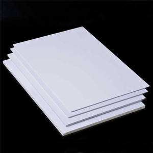 Unisign waterproof shoe storage/table material pvc foam sheet 18mm