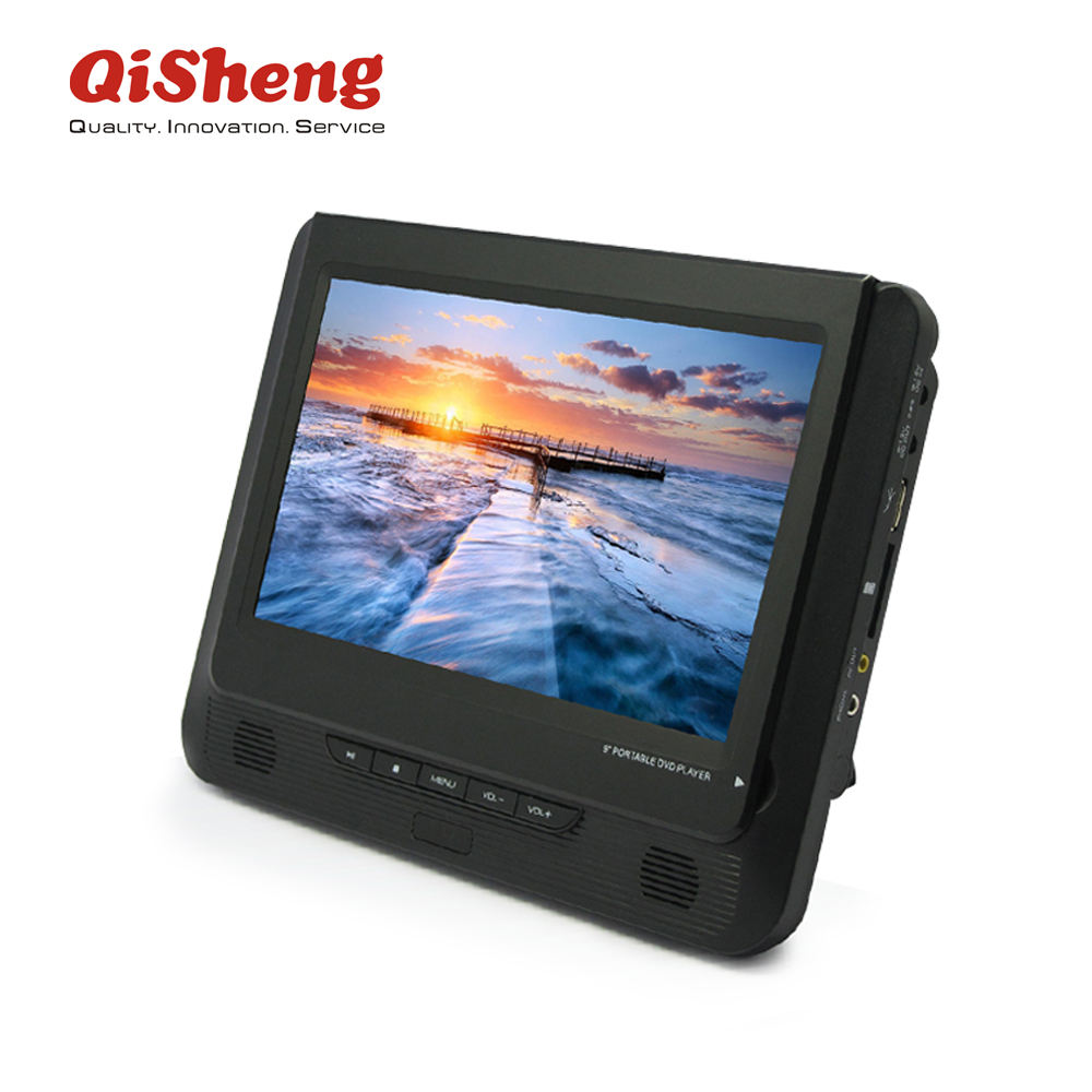 Car use DVD/VCD Player 9 inch portable DVD with USB/card reader