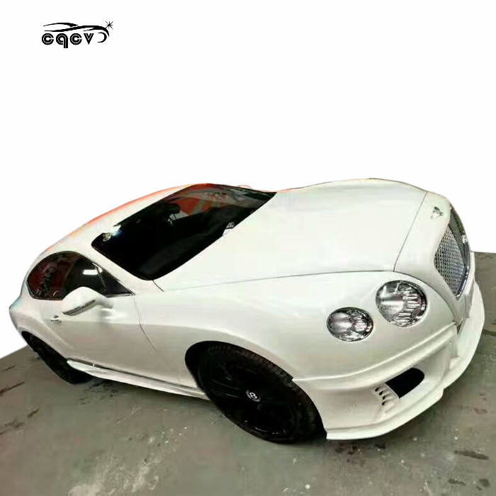 Body kit suitable for newest Bentley Continental GT in wd style auto parts front bumper rear bumper side skirts and exhaust tips