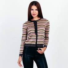 Guoou Knitwear Button up Knitted Cardigan Sweater