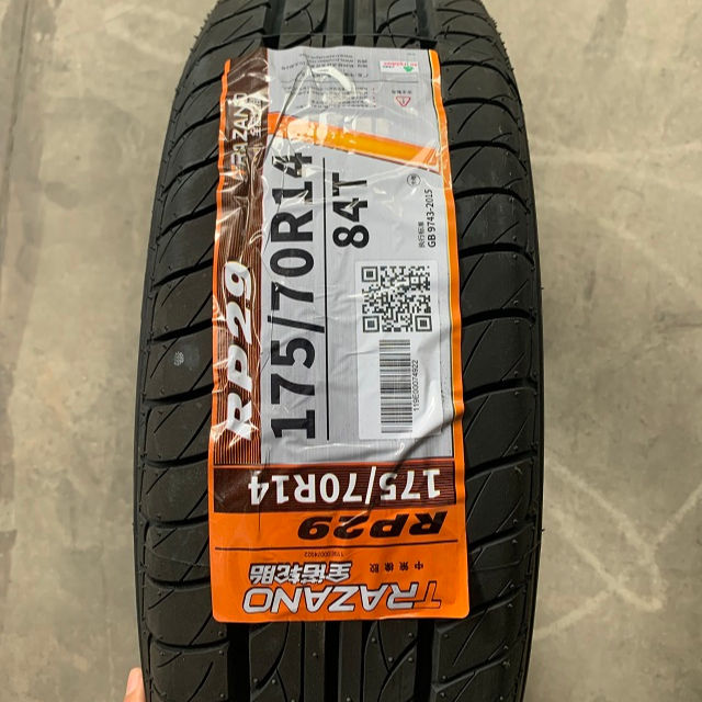China all season wheels&accessories PCR goodyear linglong trazano tyre 175/70r14 small size tire