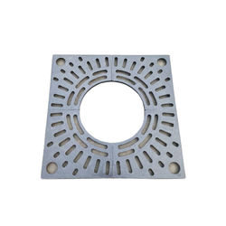 Factory Direct Sale Composite Light Green Grey FRP Resin Tree Grating Grates for Park and Garden