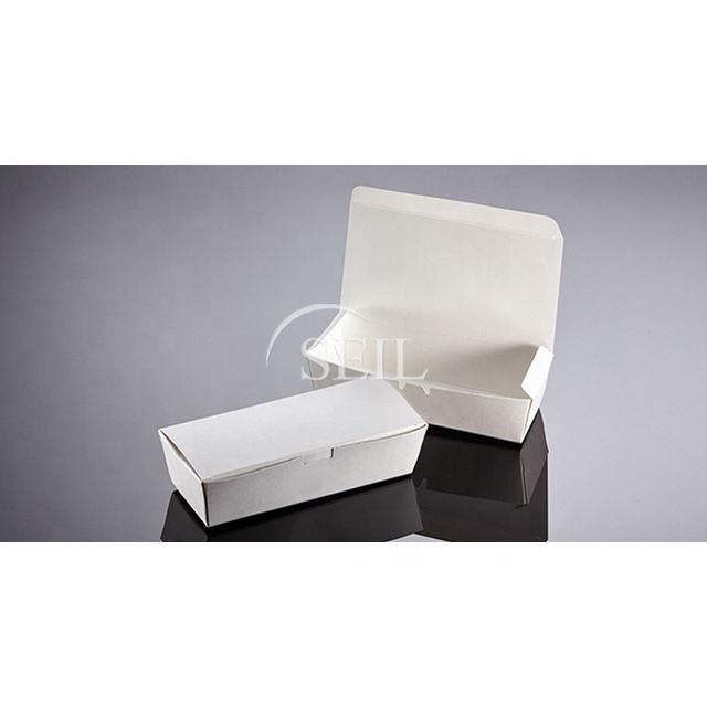 SL P23oz, Bio Compostable White Paper Pail / Packaging Food Container / Takeaway To Go Disposable Noodle Box
