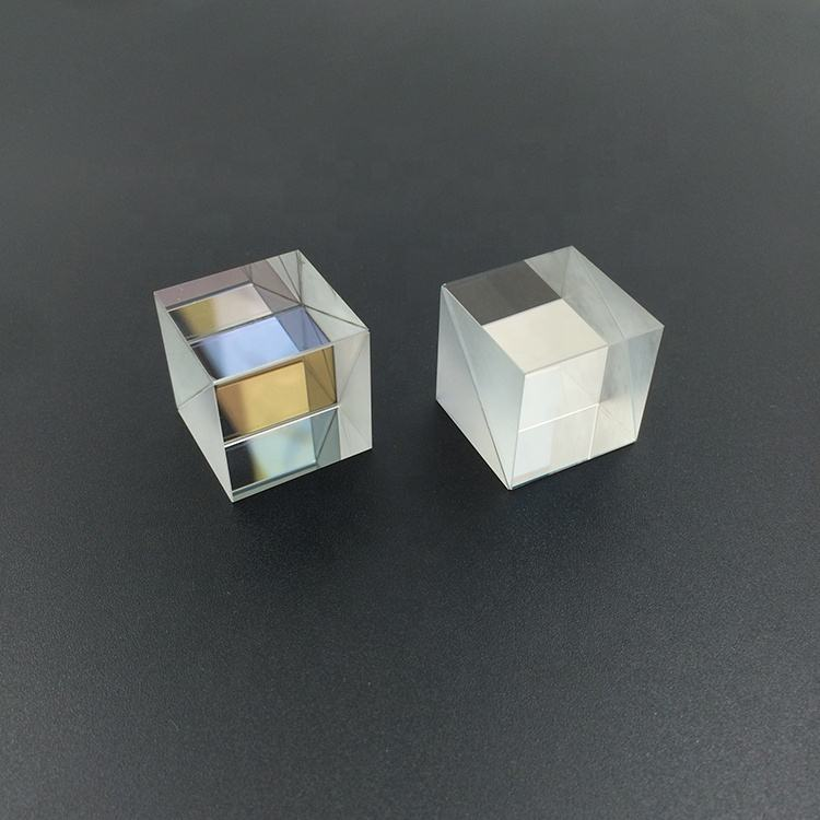 30x30mm Optical Glass Cube Dichroic Dispersion Beam Splitter Prism for Spectrometer Experiment Prisma
