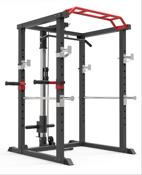 multi-functional smith machine squat rack bench press comprehensive fitness equipment use for gym or home