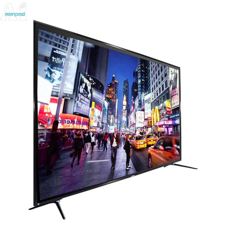 Network wifi wide large screen 2G+8G 4K ultra thin UHD tempered glass 100 inch led smart tv