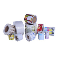 Professional manufacture supplier printing self adhesive packaging labels