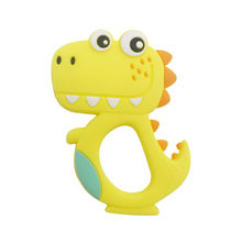 Soft Baby Teeth Teether, Food Grade Silicone Teether Crocodile Baby Animal Teething Toy