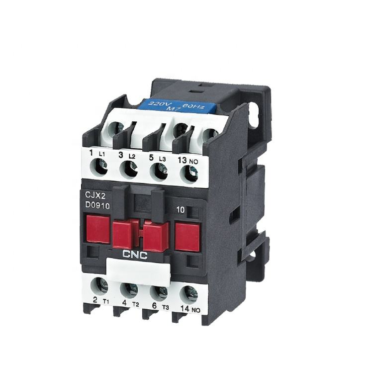 New design CJX2 Series 12a 2NO/2NC 220v Magnetic Ac Contactor