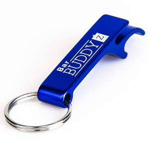 Custom metal bottle opener keychain with cheap price and fast delivery