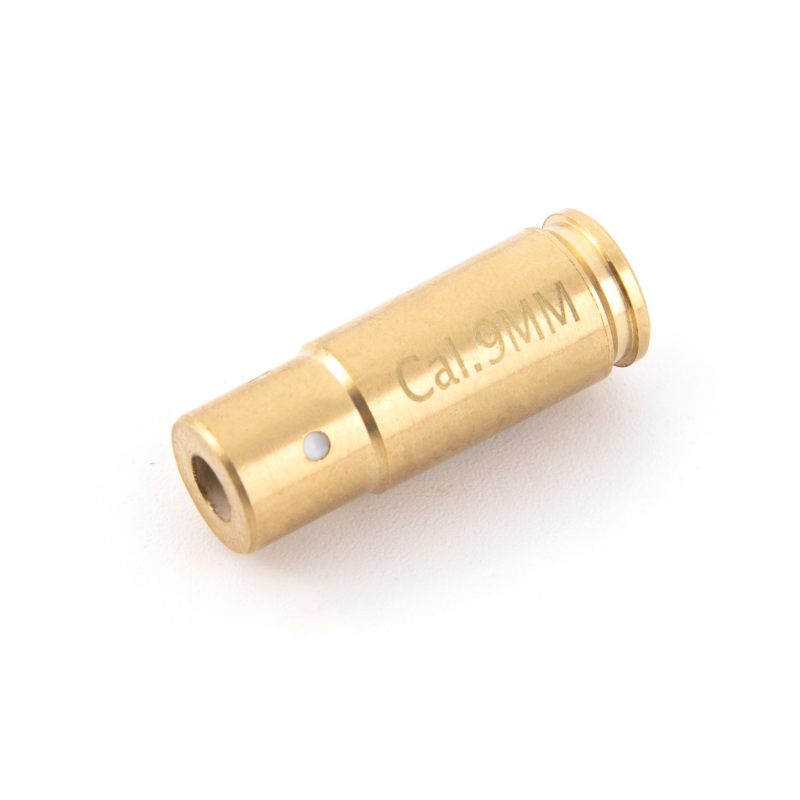 Cal. 9mm Red Laser Bore Sight for Pistol Handgun Bullet Laser Boresighter