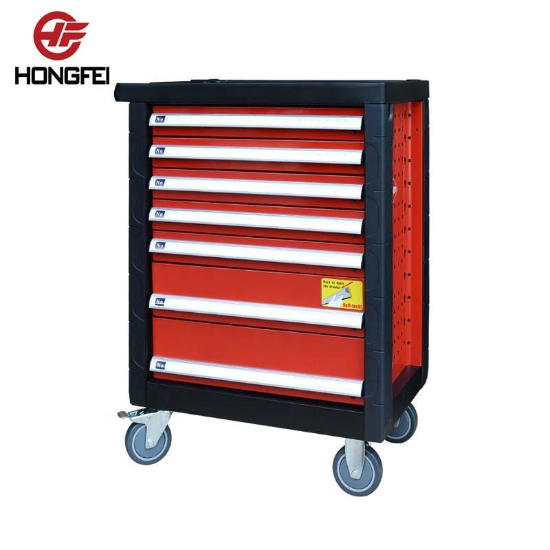 27 Inch 7 Drawers Roll Cart Portable Tool Box