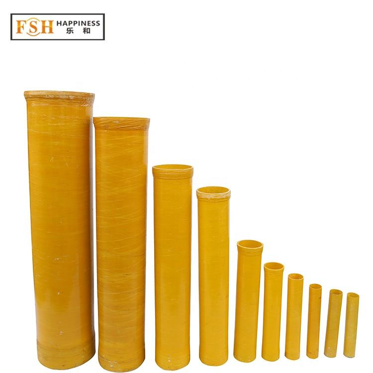 2020 Happiness factory price 40 pieces 3 inch Fiberglass Mortar Tubes for shells fireworks display