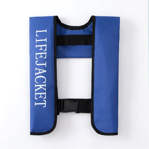 Professional Marine Safety Automatic Manual Inflatable life jacket For Outdoor Sports