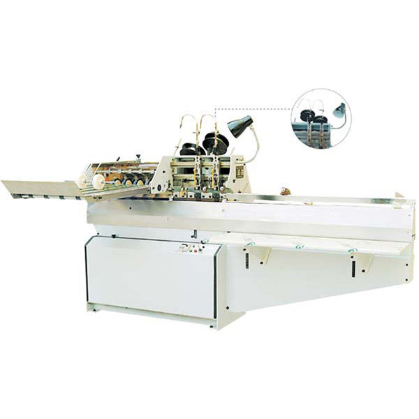 OR-404-02C Double Head Booklet Binding Stapling Machine, Saddle Stitch Stapler