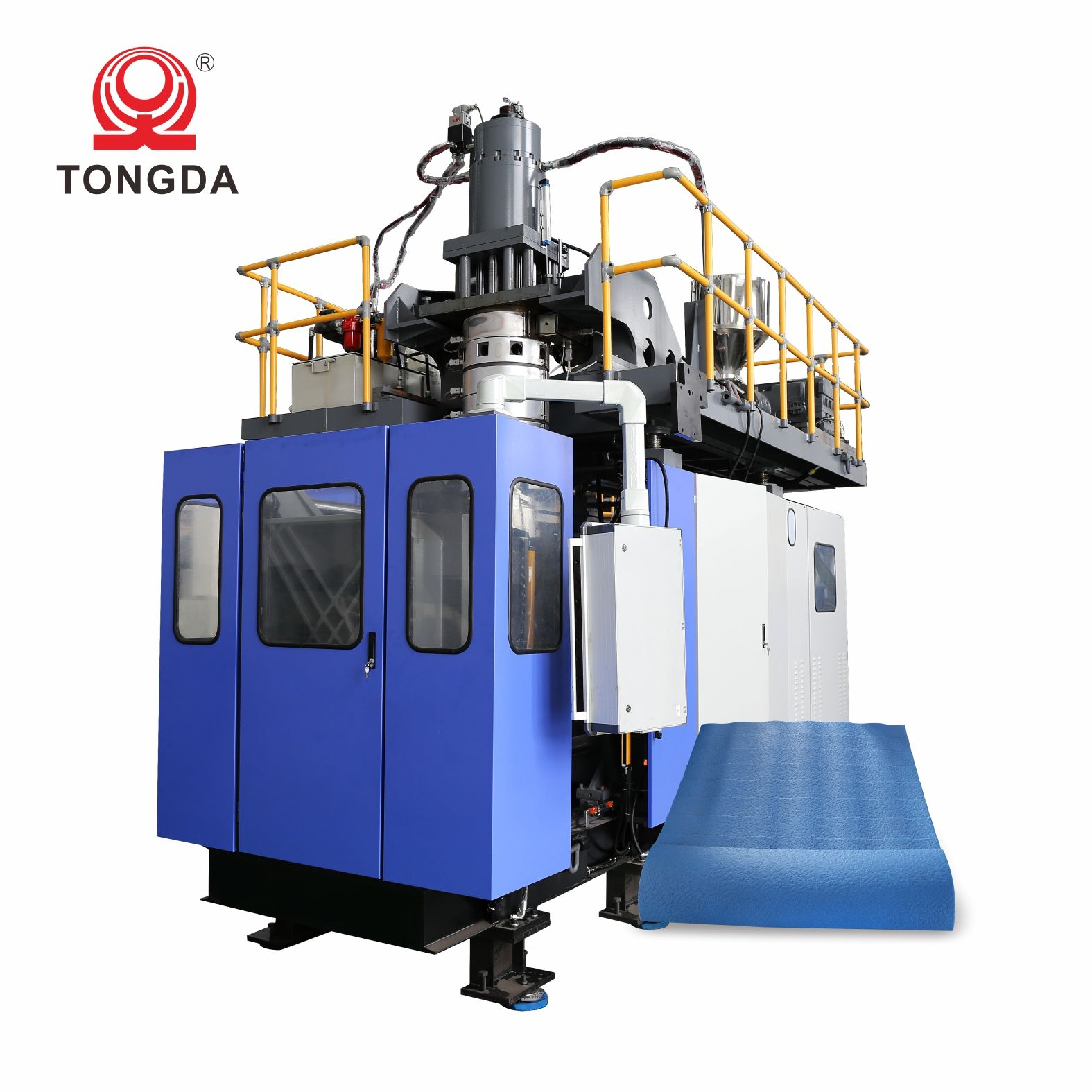 TONGDA TDB-120F Fully automatic plastic hdpe toy mannequin barrel 120 l making machine