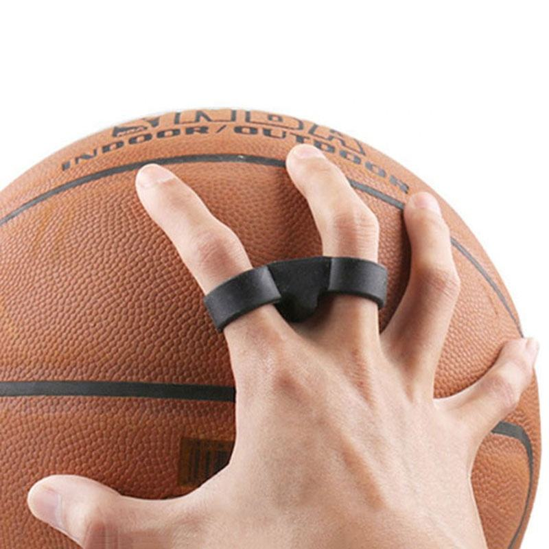 Basketball Training Aid Double Finger Shooting Trainer Correct Hand Posture Basketball Shoot Aids