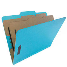 Manila Classification File Folder 2 Divider Assorted Color Fastener Office reports Manila Paper File Folder A4