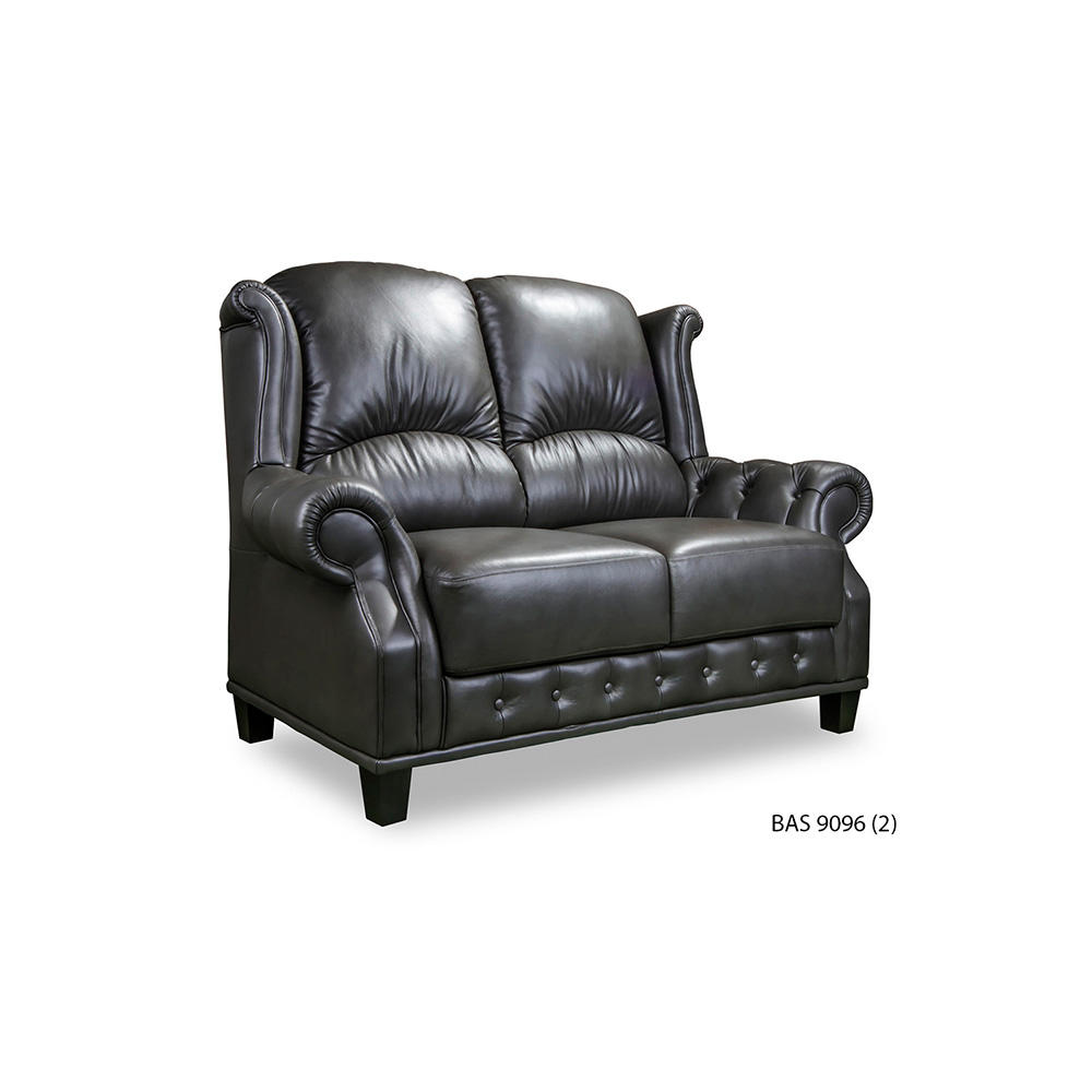 Chesterfield Sofa BAS9096 A Living Room Classical Modern Furniture Leather Fabric Luxurious Elegant 3 + 2 + 1 Malaysia