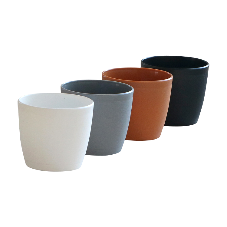 High quality 8 inch free sample decoration PP plant pots for home garden