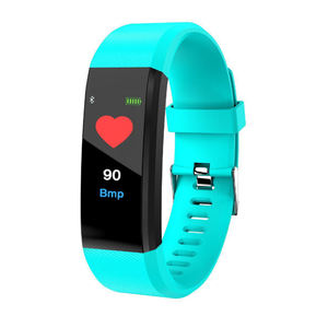 IP67 Waterproof Sport Watches 115 Plus Smart Watch Colorful BT 4.0 Blood Pressure Heart Rate Fitness Wireless 115 Smart Bracelet