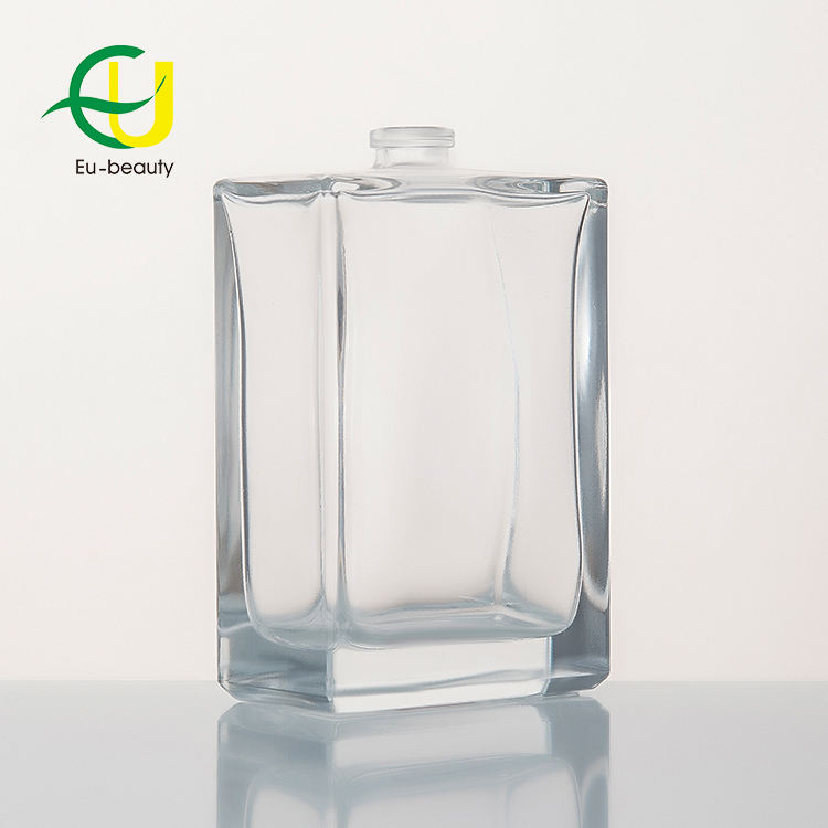 70 ml High quality 10ml square perfume glass bottle