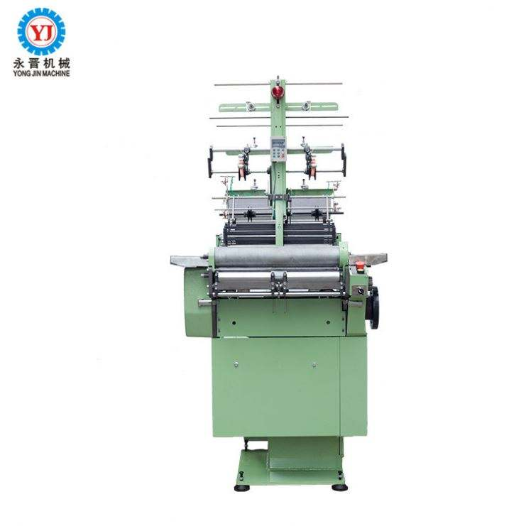 Industrial sale elastic belt loom+polyester fabric tape ribbon weaving machine