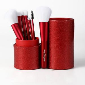 Banfi portable travelling holder makeup brush set bling makeup cosmetics brush with private label for Artist home use