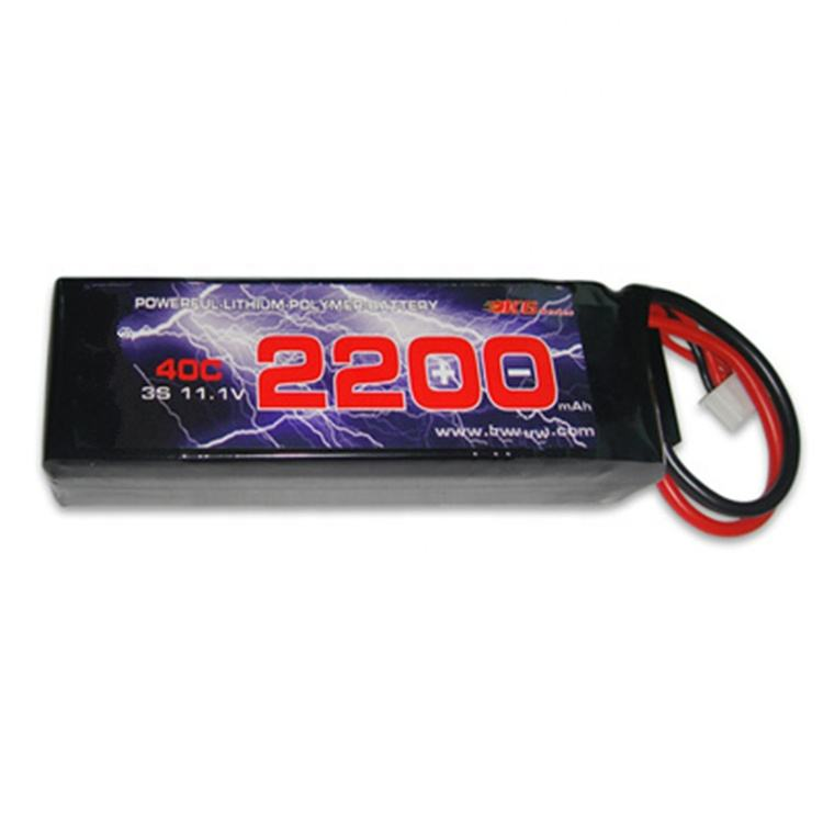 Wholesale Hobby Operated Toys Airsoft Gun RC Model 2000 2200mah 40C Toys 3s Lipo Battery Pack Lipo Battery 11.1v