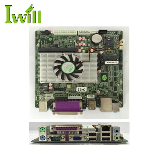 D425 Single 1.8GHz Processor X86 Mini Itx Embedded Desktop Motherboard