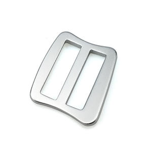 6061 Aluminum Adjustable Slide Buckle Custom Color Tri-glide Metal Buckle For Bags Dog accessories