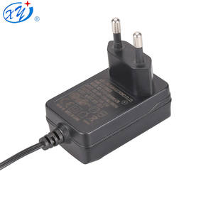 Dinding Mount DC 12 Volt Power Supply CE Uni Eropa Plug AC DC Adapter