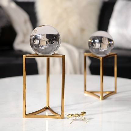 Popular Italy home decor accessories crystal ball interior decoration