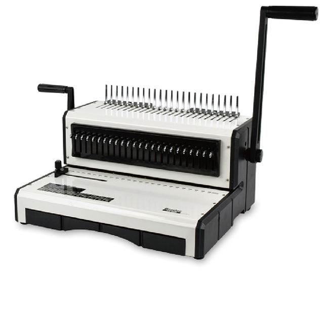 YB-S960 plastic comb binding machine office book biniding mahcine puncher and binder A4 Small Comb Binding Machine