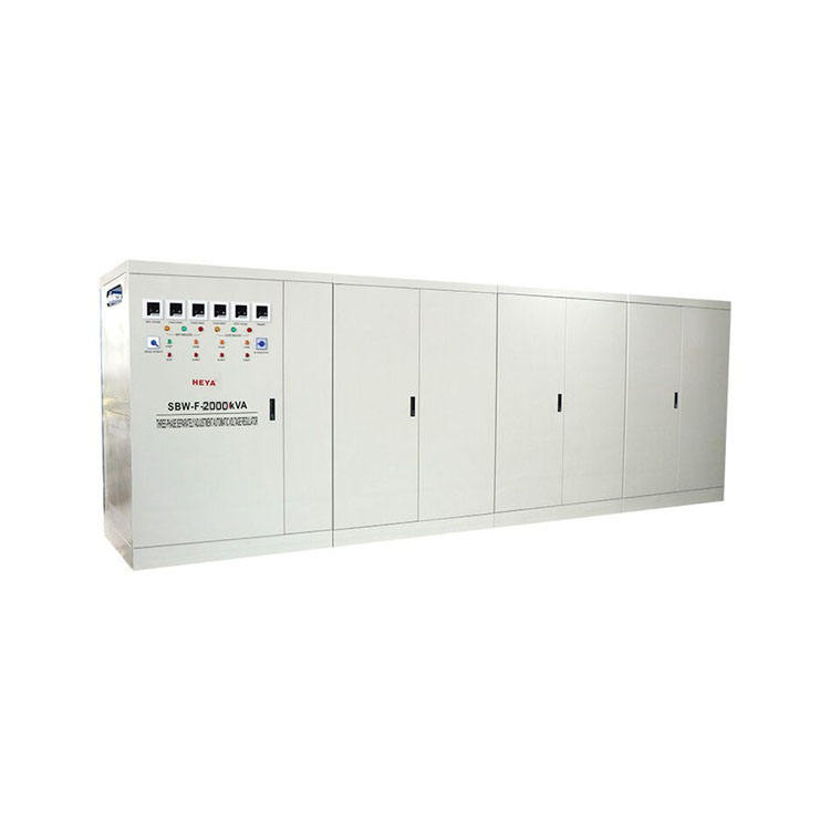 SBW HEYA SBW-F-1500KVA 2000KVA 2500KVA 100% Load Three Phase Industrial Ac Voltage Regulator/Stabilizer With Warranty