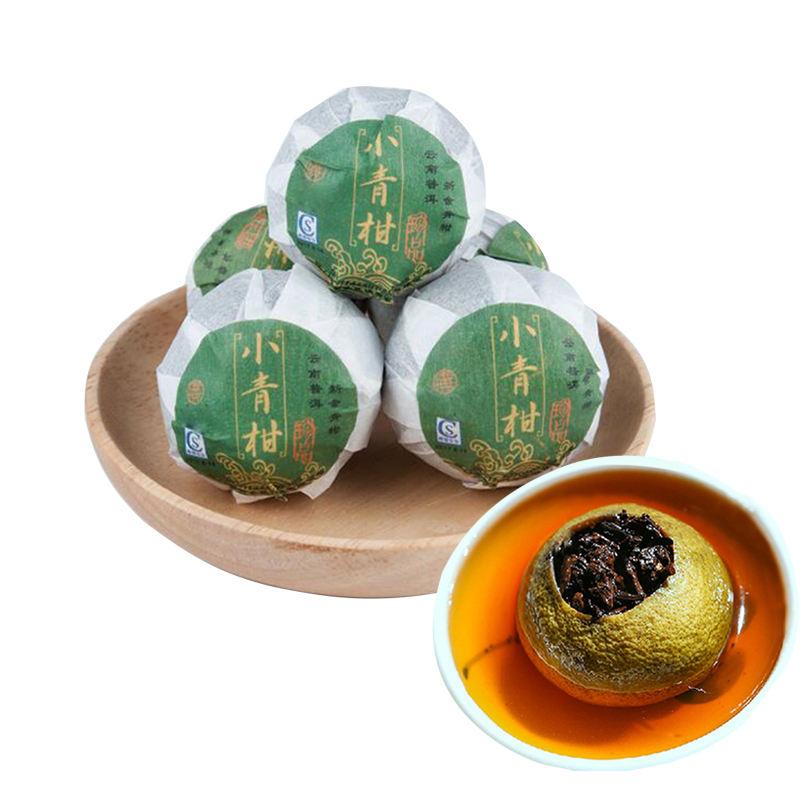 Подгонянный пакет Апельсиновая кожура Puerh чай мандарин Peel Puer чай P-AA