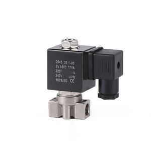 ZX100S Stainless steel series high pressure pneumatic irrigation electric gas smc hydraulic water air solenoid valve price