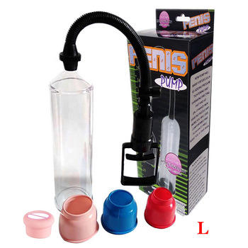 Power Sucking Penis Enlargement Pump Large Bigger Dick Cock Masturbation Cup Lengthen Vacuum Passion Sex Extender Pump For Man