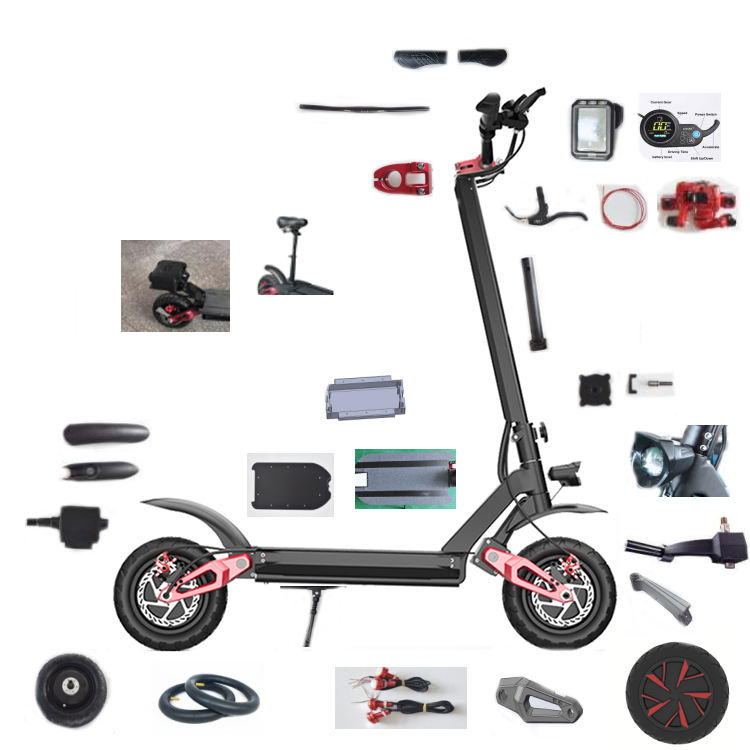 Ecorider E4-9 Wholesale electric scooter parts and body parts,electric scooter accessories