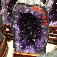 Wonderful popular purple crystals cluster amethyst crystal geode for home furnishing
