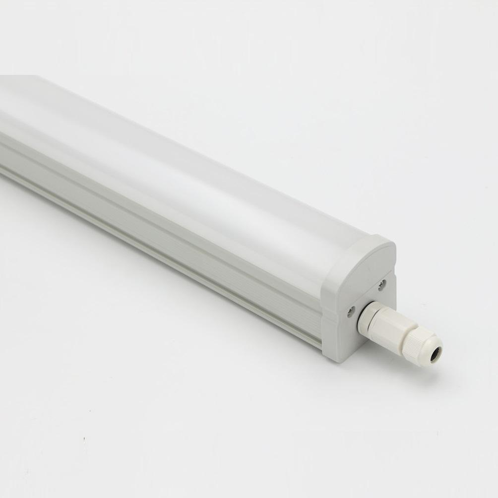 Professional BSCI Factory SNT SI 2200lm Vapor Tight Fixture With Fast Connector