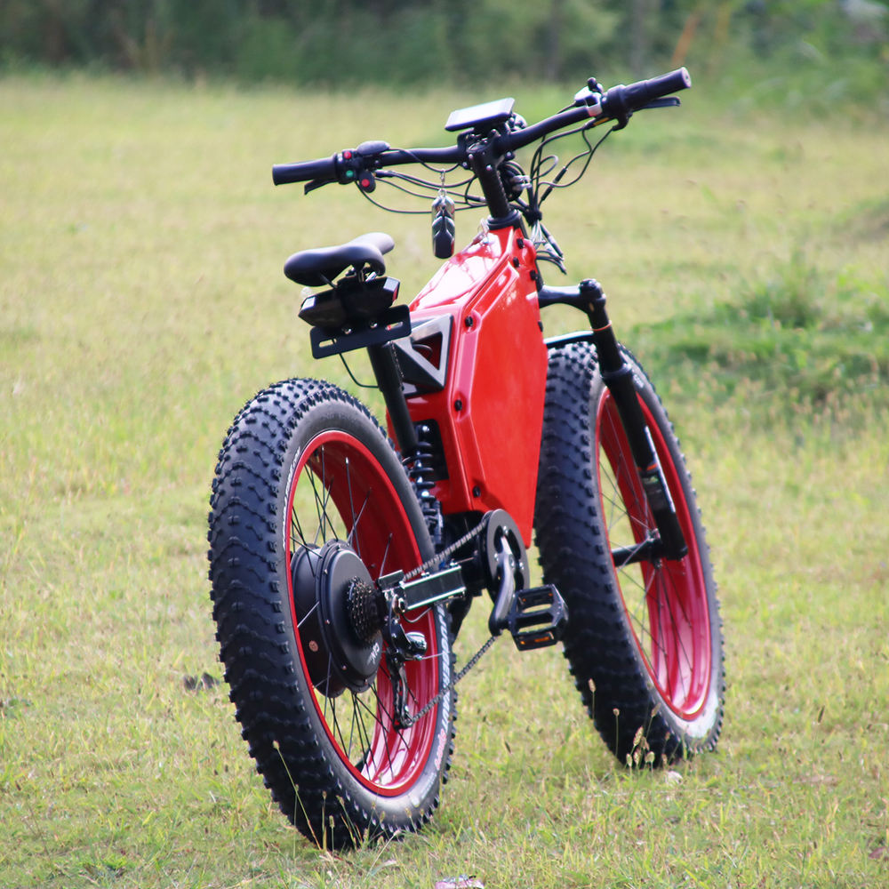 classic bicycle with fat tires 5000W enduro electric bike