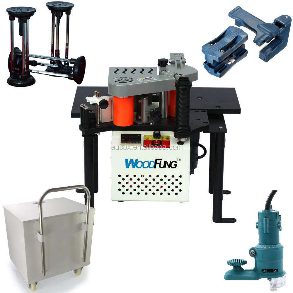 mini manual woodworking edge banding machine
