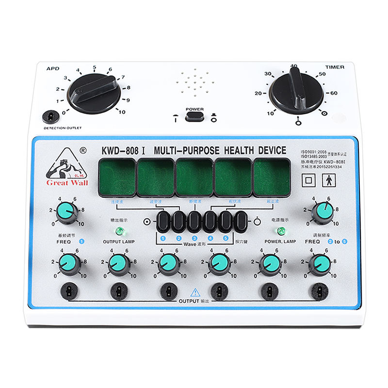 Great Wall Brand Multi-Purpose Health Device KWD808 Acupuncture Stimulator 6 Channels Output
