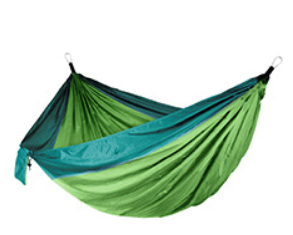 Amazon's hot outdoor hammock camping indoor leisure parachute cloth hammock