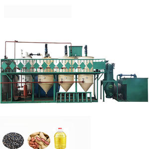 Corn oil production coconut oil refinery fractionation machine